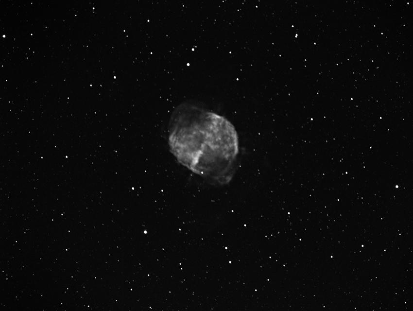 M27, Dumbbell Nebula, 850x640