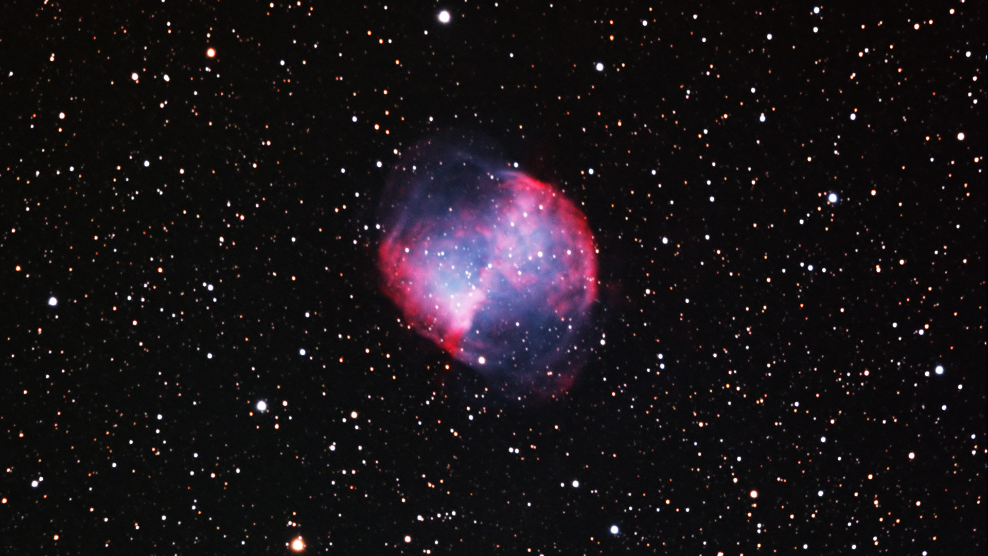 dumbbell nebula colors - photo #44